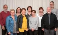 Der gesamte Vorstand des Krankenpflegevereins